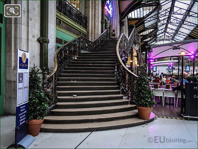The Train Bleu Staircase
