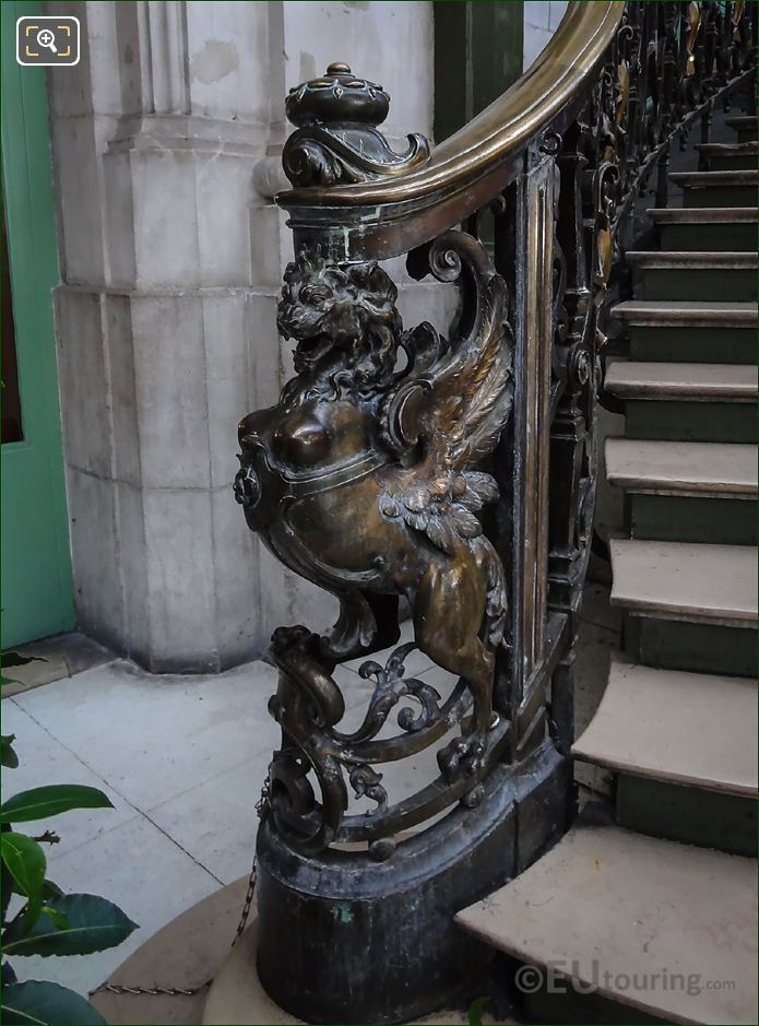 Phoenix Sculpture LHS Train Bleu Staircase