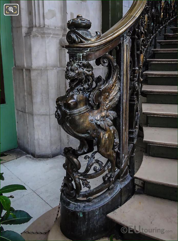 Phoenix Sculpture LHS Train Bleu Staircase