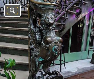 Phoenix Sculpture RHS Train Bleu Staircase