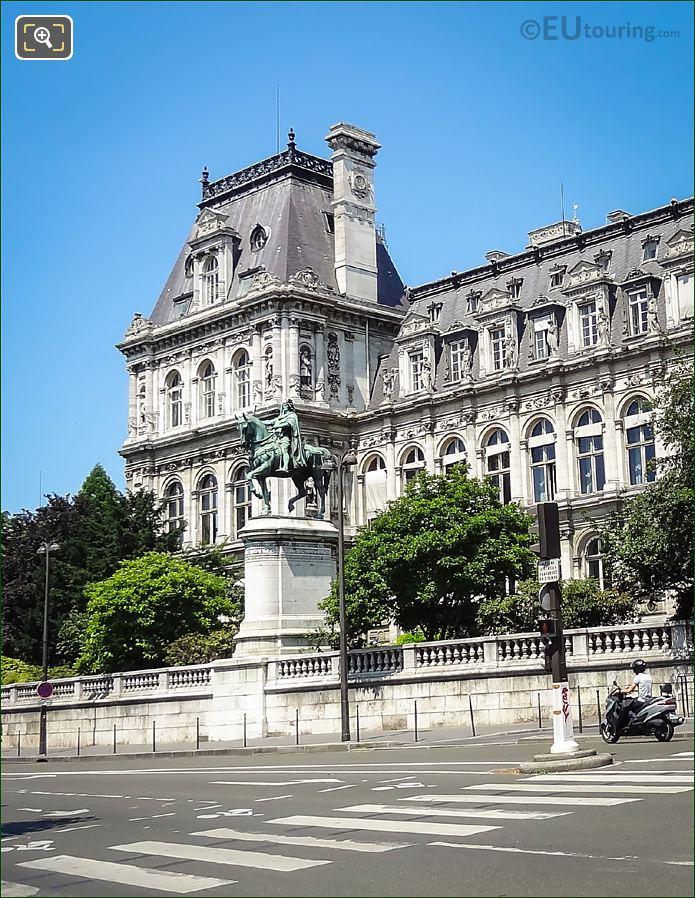 Etienne Marcel Statue By Jean Antoine Idrac
