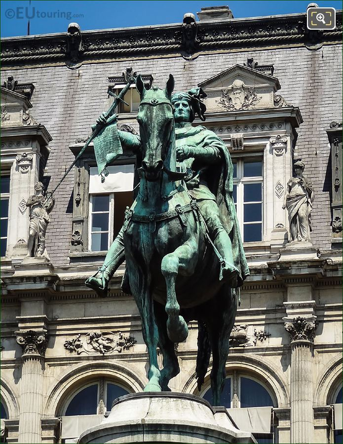 Equestrian Statue Of Etienne Marcel