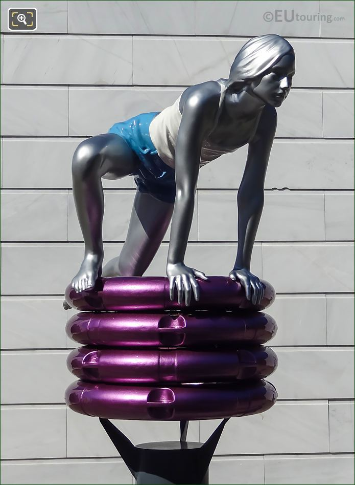 Uma Statue By Lucy And Jorge Orta