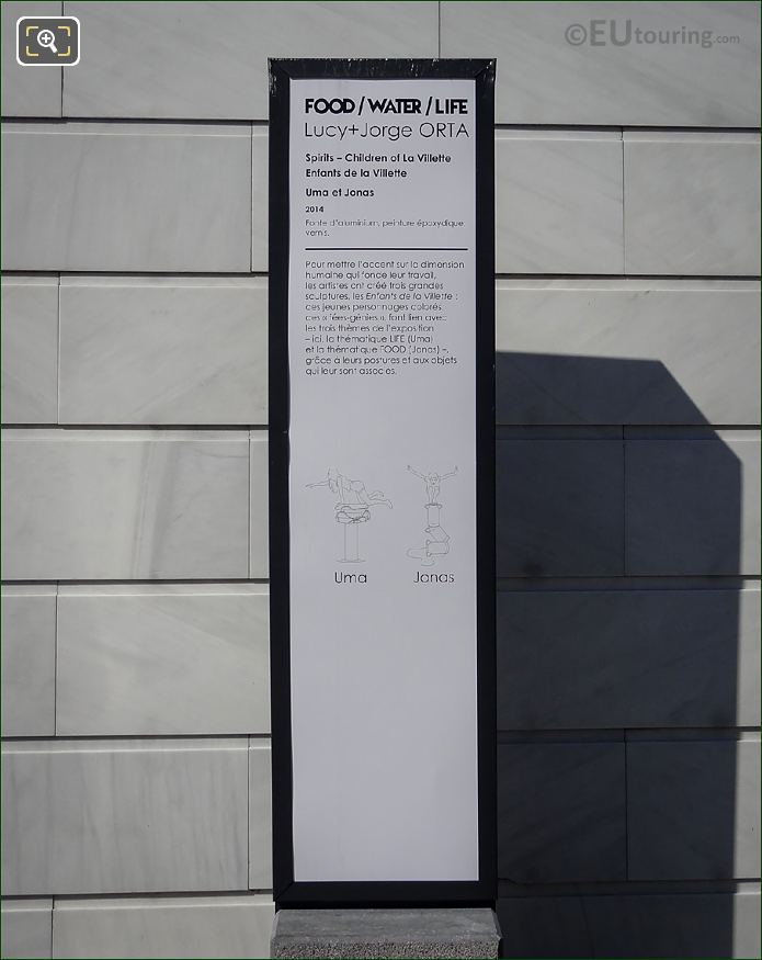 Uma Sculpture Information Board