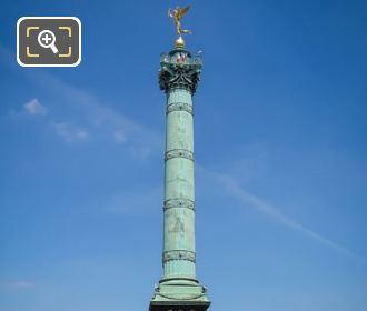 Genie De La Liberte And Colonne De Juillet