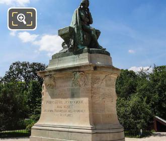 Bronze Statue Of Jean Baptiste Lamarck