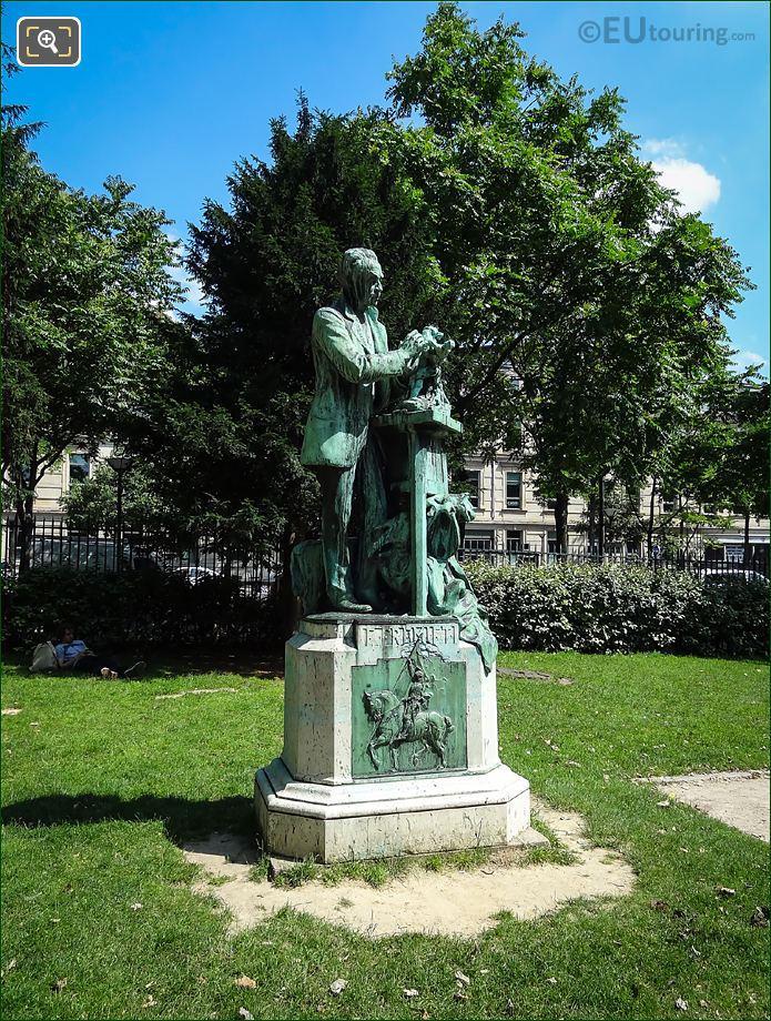 Emmanuel Fremiet Bronze Statue Paris
