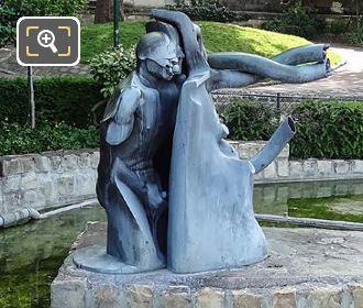 Side View Of L Hydrorrhage Sculpture Paris