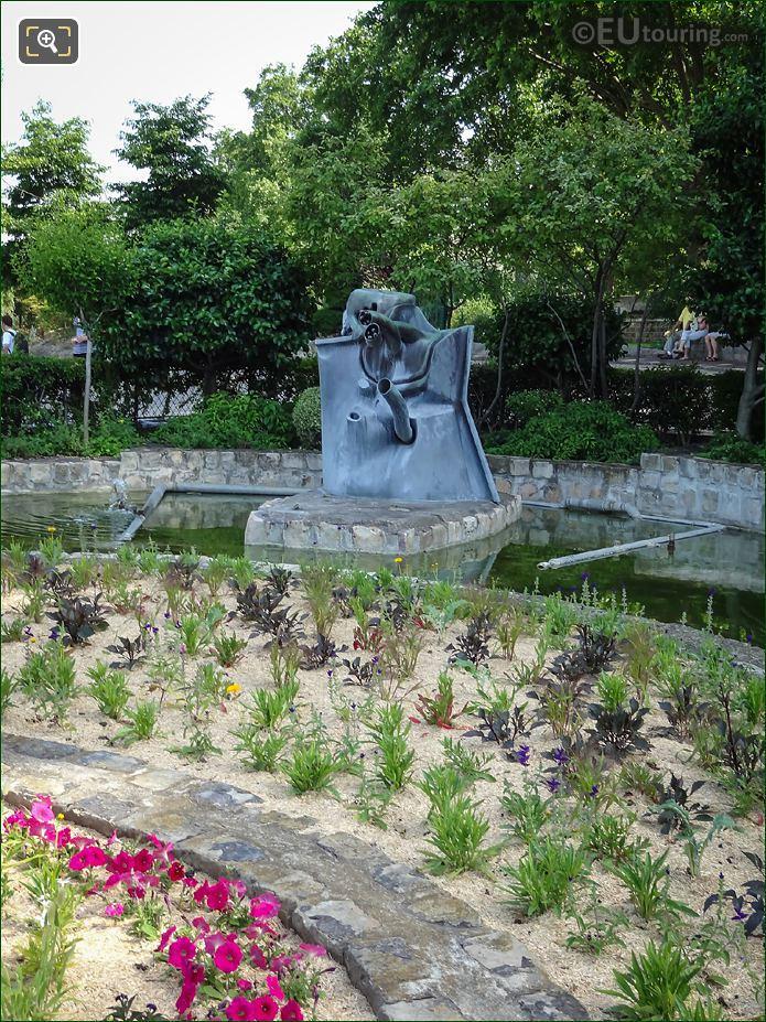 Fontaine De L Hydrorrhage By Jean Ipousteguy