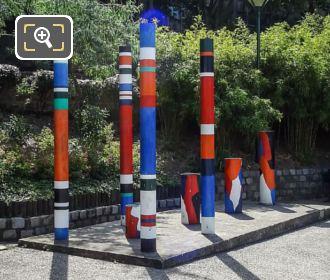 Guy De Rougemont Sculpture Interpenetration Of Two Spaces