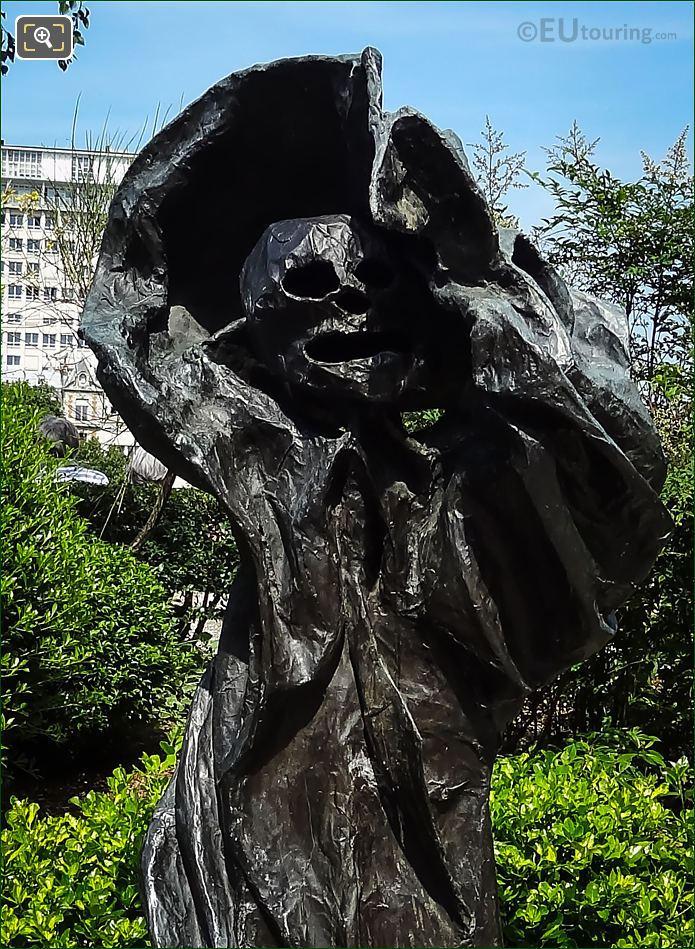 The Melmoth Bronze Skull
