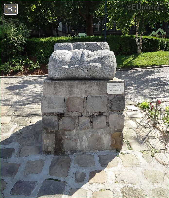 Coeur De Gaucho Sculpture By Sesostris Vitullo