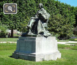 Picture Of Comte De Buffon Statue