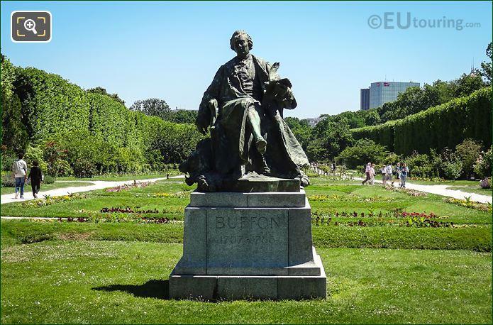 Georges-Louis Leclerc, Comte De Buffon Statue