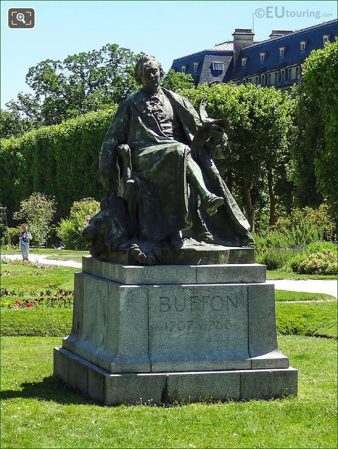 Statue Of Georges-Louis Leclerc, Comte De Buffon