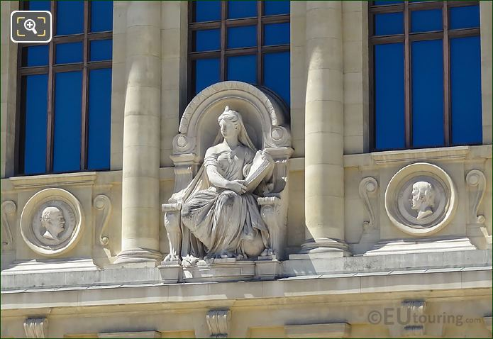 l'Histoire Naturelle Statue