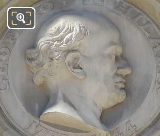 Etienne Geoffroy Saint-Hilaire Stone Bust