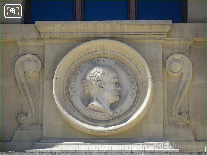 Etienne Geoffroy Saint-Hilaire Statue In Paris