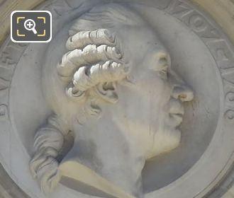 Stone Bust Georges-Louis Leclerc Comte De Buffon