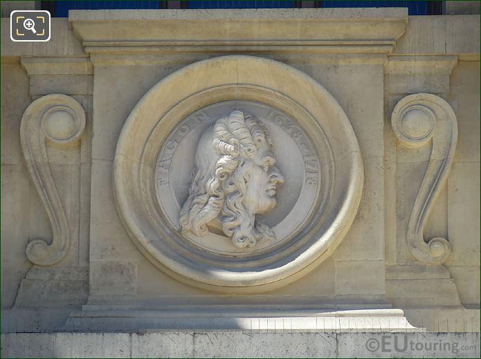 Guy-Crescent Fagon Bust Statue Paris