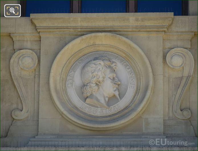 Guy De La Brosse Bust Statue Paris