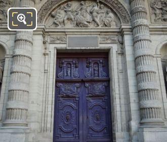 Stoning Of Saint Stephen Eglise Saint Etienne Du Mont