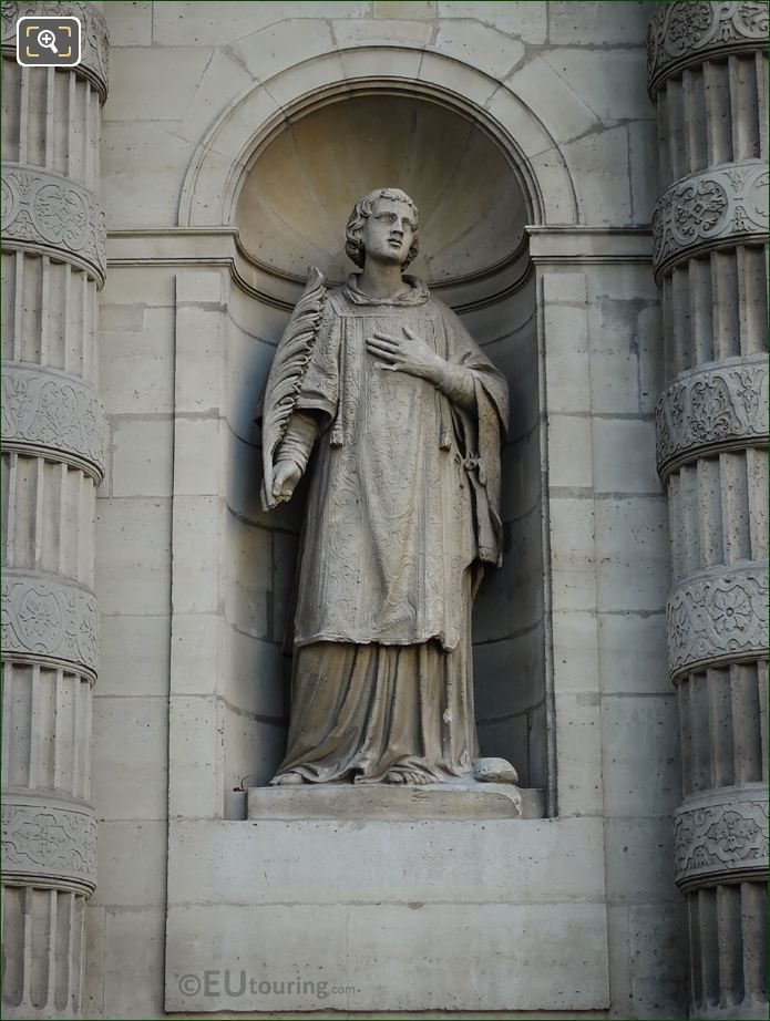 Saint Etienne Statue By Joseph Marius Ramus