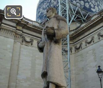 J J Rousseau Statue By Andre Bizette-Lindet Paris