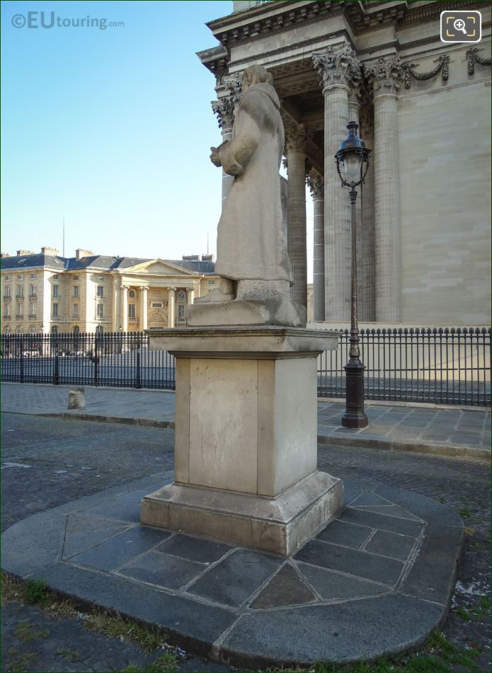 South Side Of J J Rousseau Statue Paris