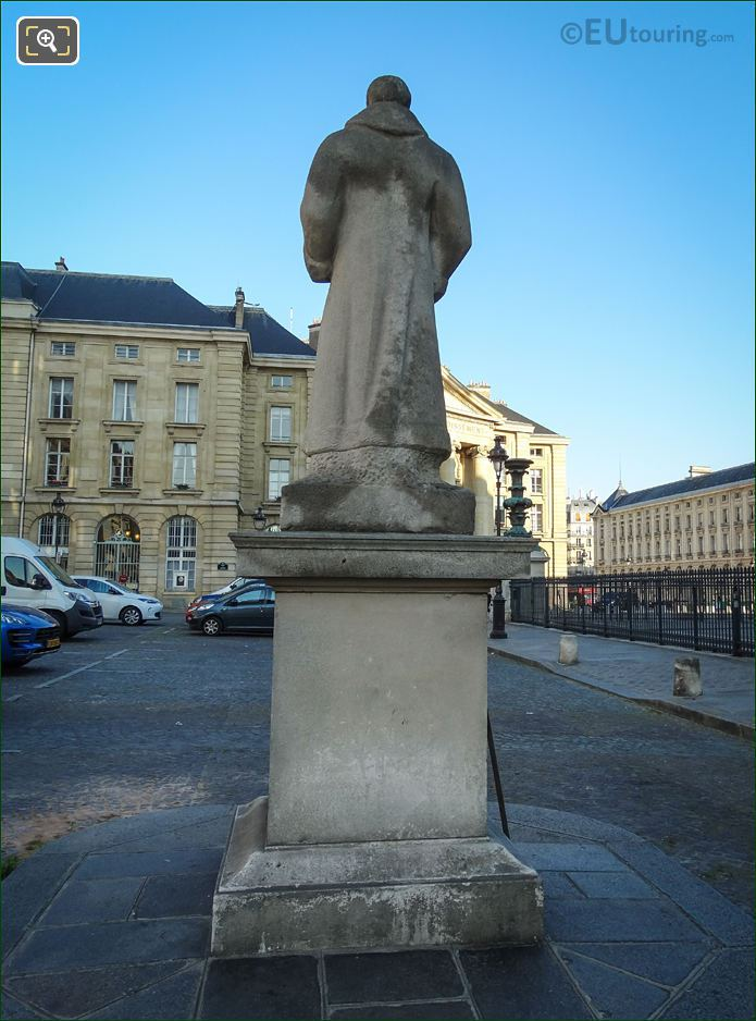 Back Of The Jean-Jacques Rousseau Statue