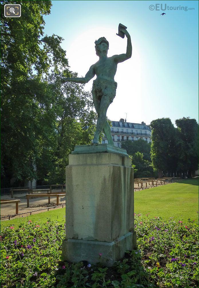 Baron Bourgeois 1868 Statue L Acteur Grec