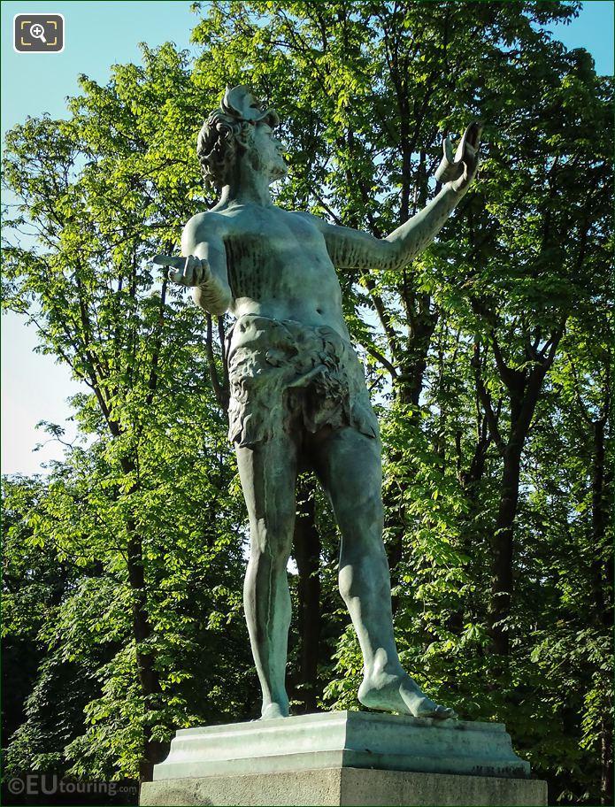 L Acteur Grec Statue By Baron Bourgeois