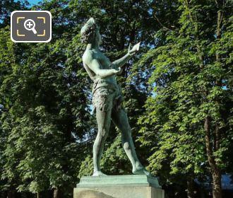 L Acteur Grec Statue By Artist Baron Bourgeois