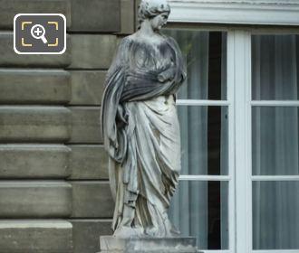 Marble Statue Of Sainte Suzanne