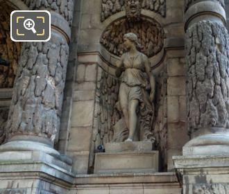 Fontaine De Medici Diane Statue