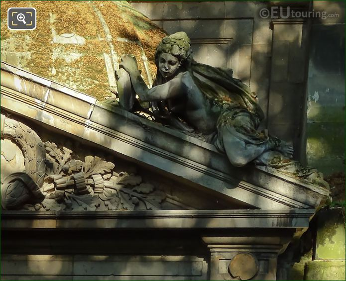 RHS Naiad Statue On Fontaine De Leda By Jean B J Klagmann