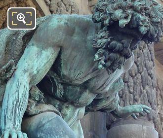 Polyphemus Statue Jardin Du Luxembourg
