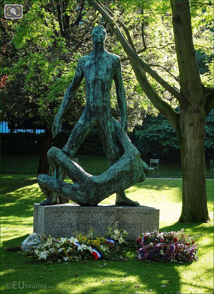 Etudiants Morts Dans La Resistance Monument Luxembourg Grdns