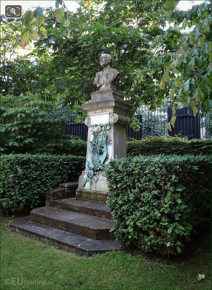 Luxembourg Gardens Theodore De Banville Monument