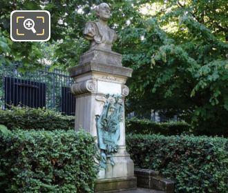 Monument Dedicated To Theodore De Banville