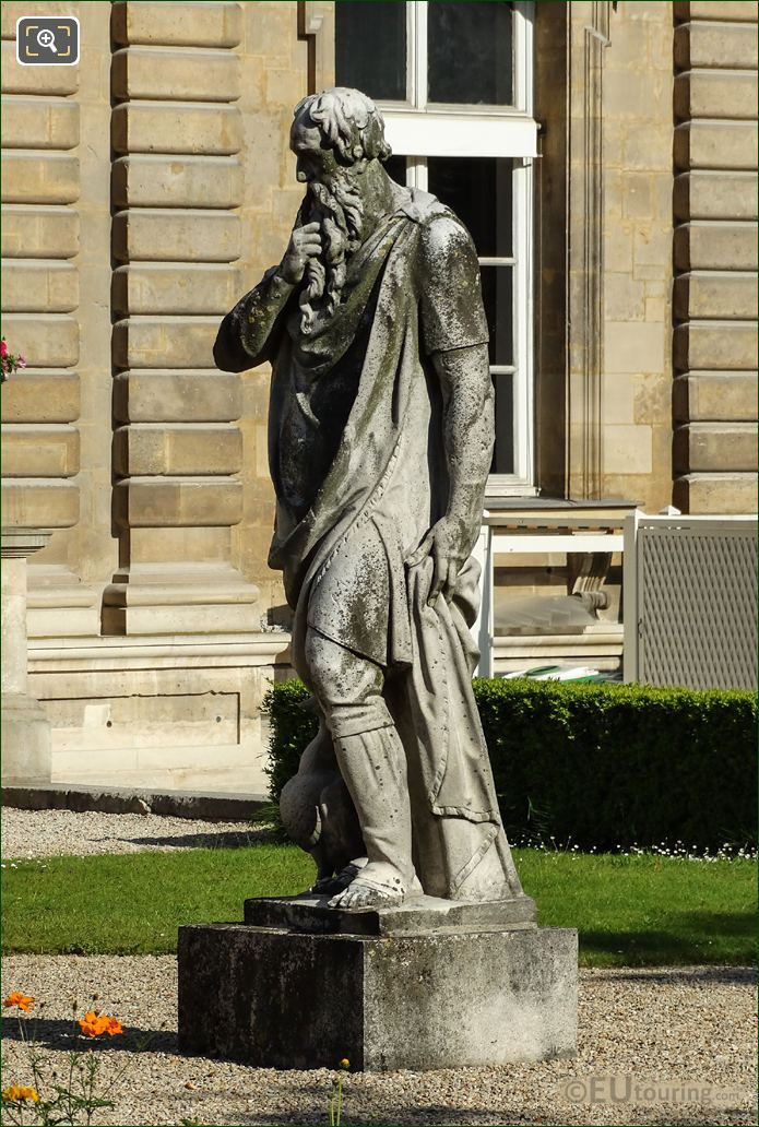 Le Silence Statue By Guillaume Berthelot