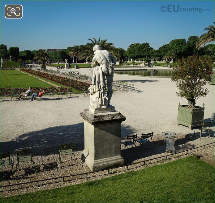 Statue Of Marius Debout Sur Les Ruines De Carthage