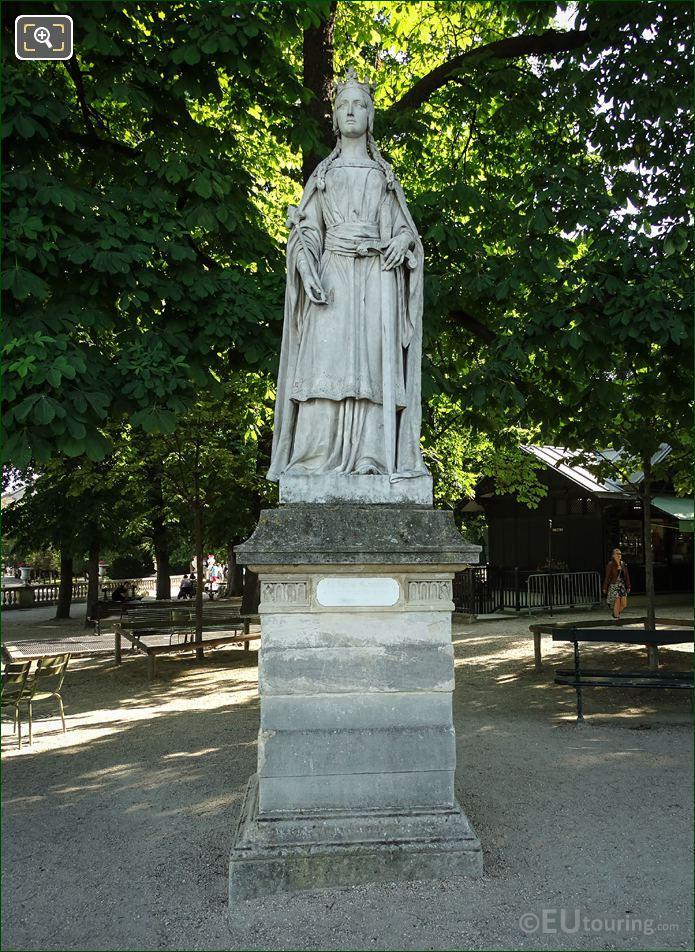 La Reine Mathilde Statue Jardin Du Luxembourg