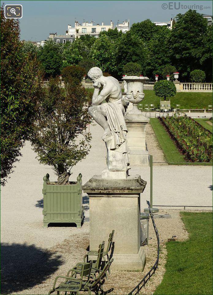 Nicolas Vilain Statue Marius Debout Sur Les Ruines De Carthage