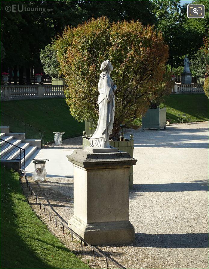 North Side Of Calliope Statue