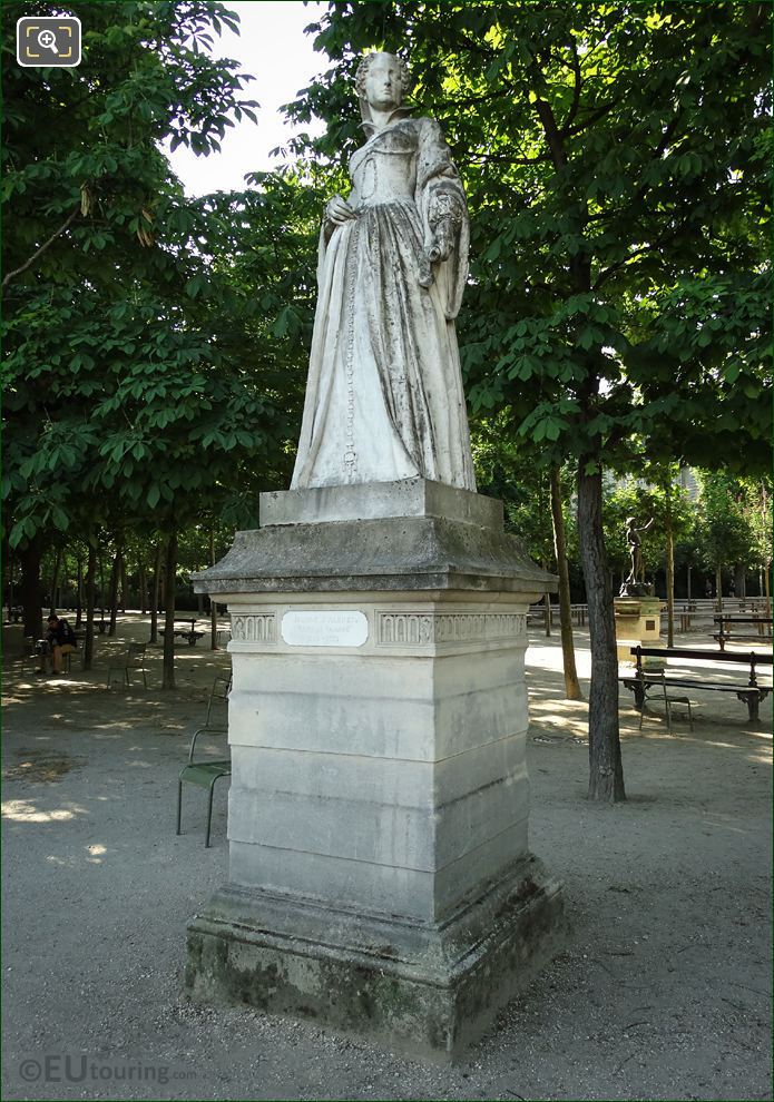 Luxembourg Gardens Statue Jean d'Albret