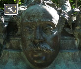 Alexandre Dumas Mask On Le Marchand De Masques