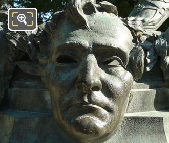 Hector Berlioz Mask On Le Marchand De Masques