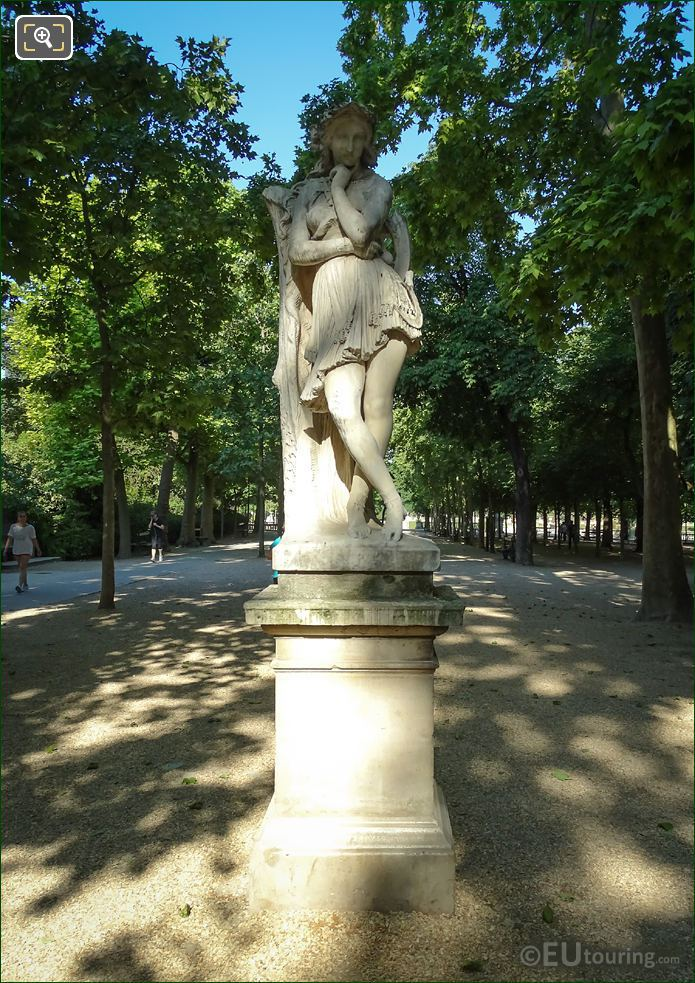 Statue Of Velleda By Hippolyte Maindron