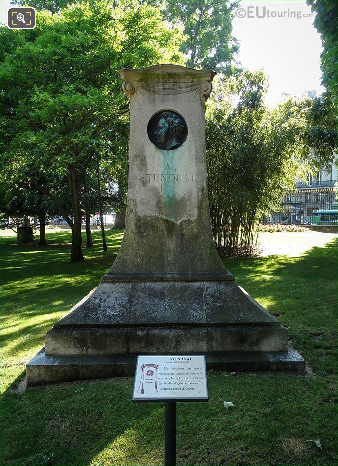 Stendhal Monument Designed By Charles Plumet
